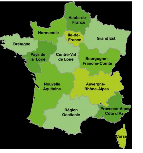Communaute De Communes Medoc Estuaire 13 Regions 13 Noms Et Une Nouvelle Carte De France